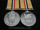 FULL SIZE IRAQ WAR MEDAL WITHOUT CLASP REPLACEMENT COPY